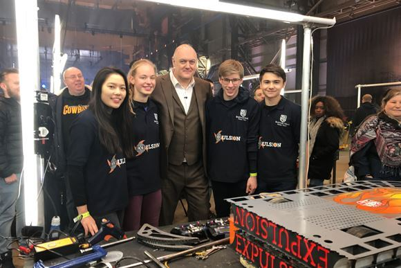 BBC Robot Wars - Features Brentwood School