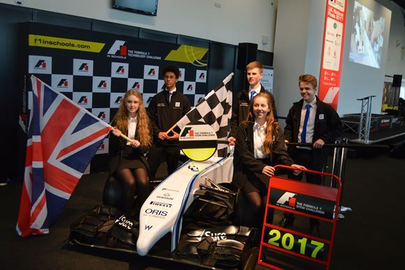 WMG Academy & Emmanuel College on way to World Finals for F1 in Schools