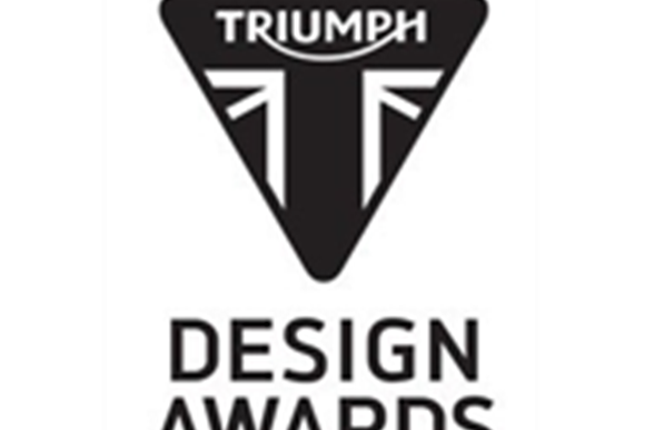 The Triumph Design Awards 2019 is open to 16-18 year olds