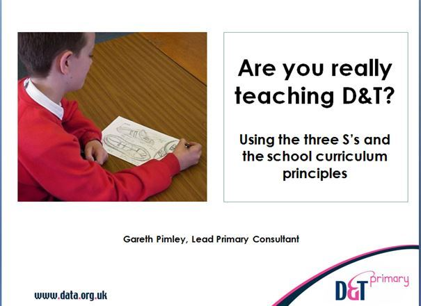 Are you really teaching D&T? and D&T Principles guidance