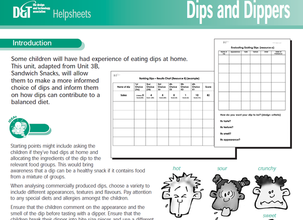 Dips and dippers YR3