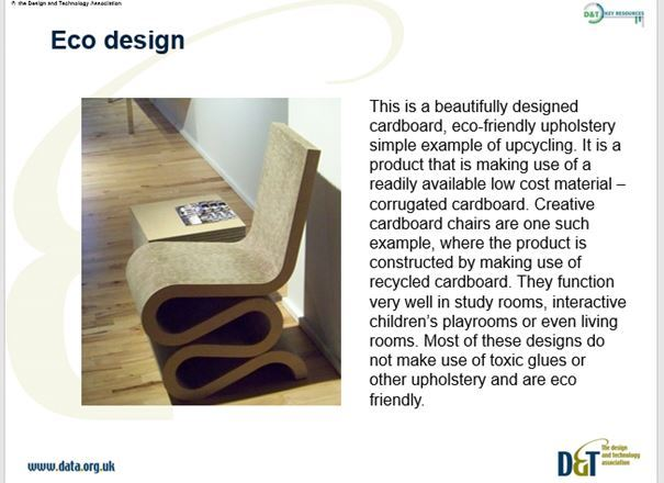 Product Design Early KS3 Y7 Technology in Society - Eco Design