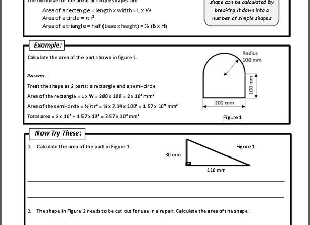 GCSE Engineering (9-1) Numeracy Pack (written for the AQA specification)