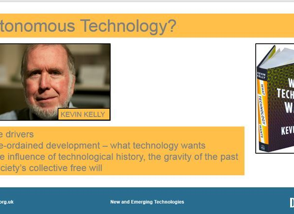 GCSE Key Resources: New and Emerging Technologies