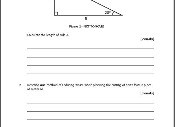 NEW GCSE Design and Technology (9-1) Homework Pack (Written for the AQA Specification)
