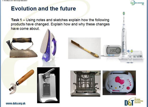 Product Design Late KS3 Y9 Technology in Society - Evolution and the future