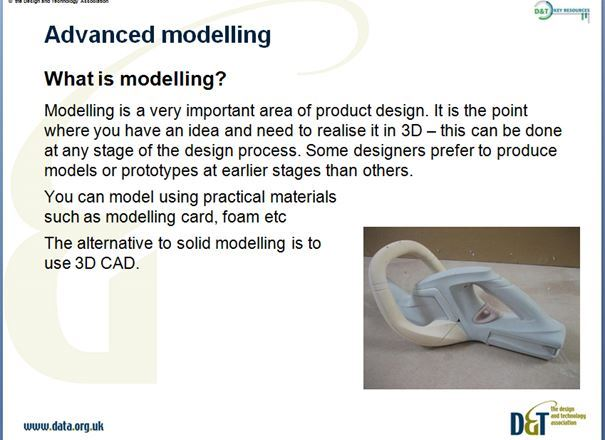 Product Design Late KS3 Y9 Mainly Designing - Advanced Modelling