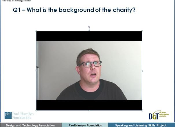 Speaking and listening through D&T projects Virtual Client Interview 2 Homeless Charity