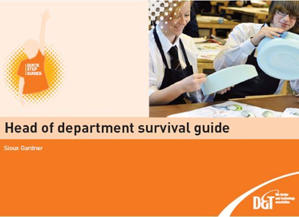 Quick Step: New Head of Dept Survival Guide