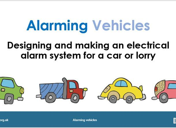 Alarming vehicles YR 4/5/6