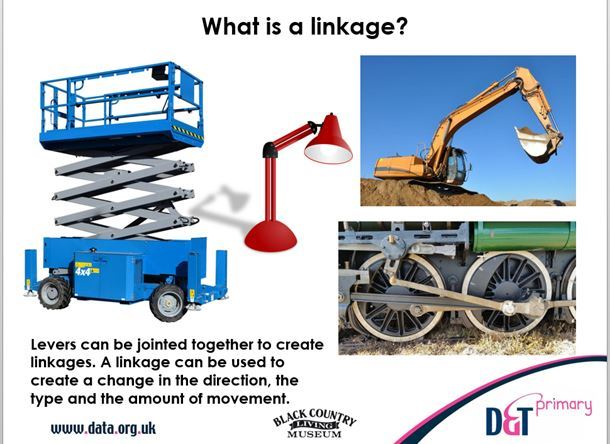 Moving history book - levers and linkages