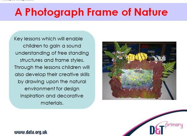 Photograph frame of nature