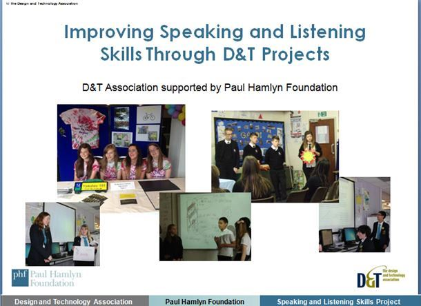 Speaking and listening through D&T projects 1. Introduction